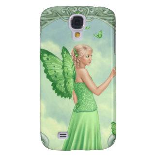 Peridot Birthstone Fairy Samsung Galaxy S4 Case