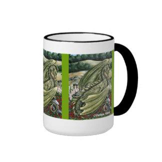 Peridot Dragon Wraparound Mug