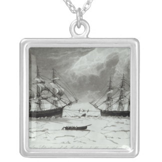 Perilous Situation of the Isabella and Silver Plated Necklace
