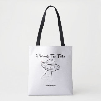 Perilously Fun Saucer! Tote Bag