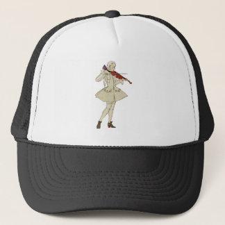 Period Violinist Trucker Hat