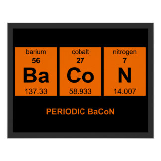 Periodic BaCoN Poster 18 95