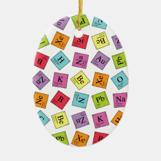 Periodic Elements Christmas Ornament