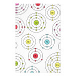 Periodic Shells Stationery Paper
