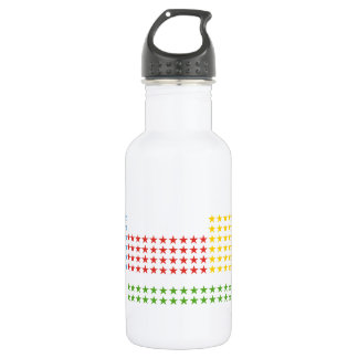 Periodic table 18oz water bottle