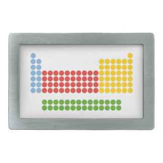 Periodic Table Belt Buckle