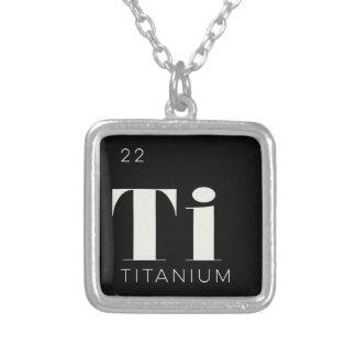 Periodic table necklaces periodic table necklace for Table titanium quadra 6