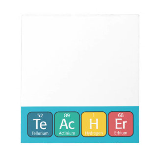 Periodic Table Elements Spelling Teacher Notepad
