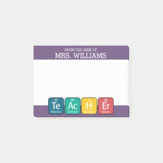 Periodic Table Elements Spelling Teacher Post It Notes