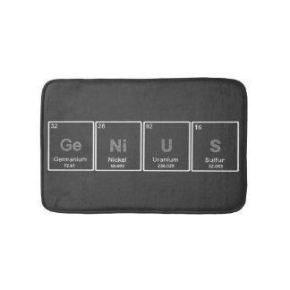 Periodic table GeNiUS bath rug Bath Mats