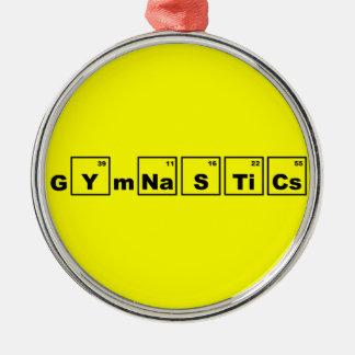 Periodic Table Gymnastics Christmas Ornament
