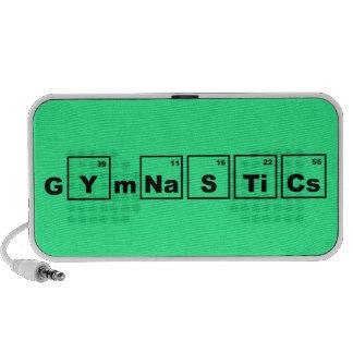 Periodic Table Gymnastics iPhone Speakers