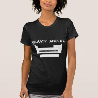 Periodic table: heavy metal shirts