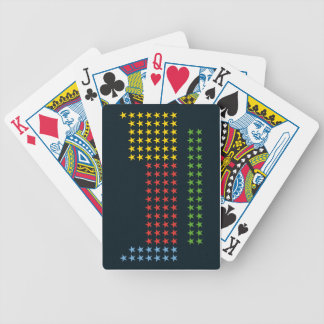 Periodic table in stars bicycle poker deck