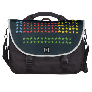 Periodic table in stars laptop commuter bag