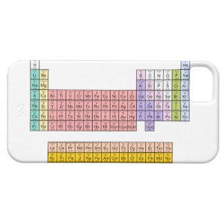 Periodic Table iphone 5 case