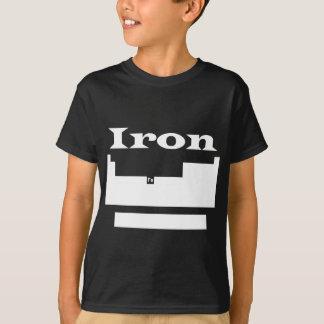Periodic table: iron t-shirts