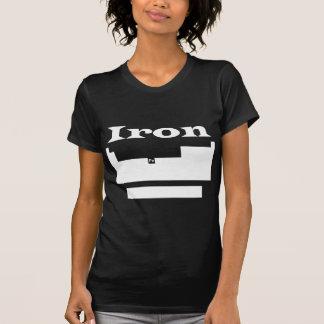 Periodic table: iron t shirts