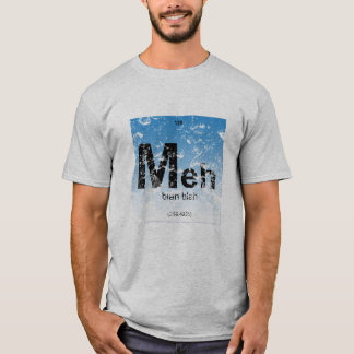 periodic table meh blah blah funny t-shirt design