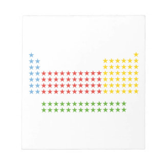 Periodic table memo notepads