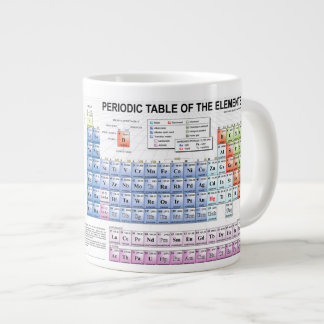 Periodic Table Mug Jumbo Mugs