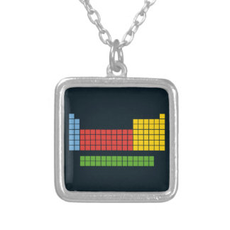Periodic table necklaces