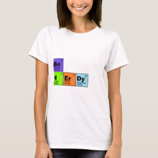 Periodic Table Nerdy Products T-Shirt