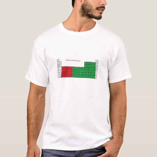 """Periodic Table of Christmas"" T-shirt"