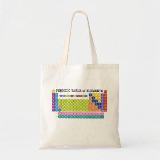 Periodic Table of Elements Budget Tote Bag