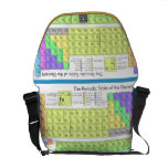 Periodic table of elements courier bag