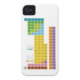 Periodic Table of Elements iPhone 4 Covers