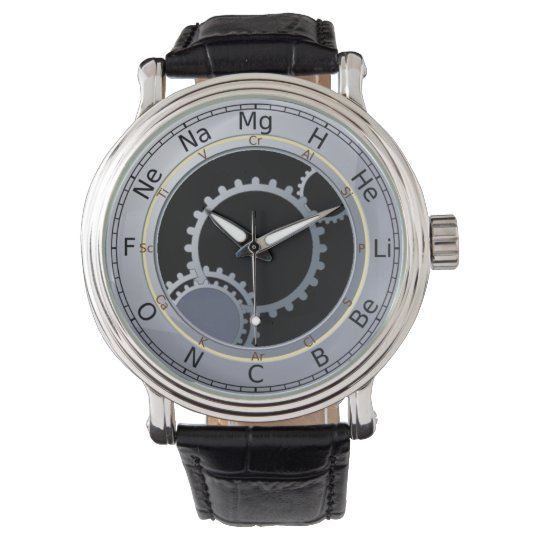 Periodic Table of Elements Men's Watch