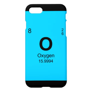 Periodic Table of Elements (Oxygen) iPhone 7 Case