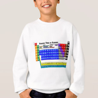 Periodic Table of Elements Sweatshirt