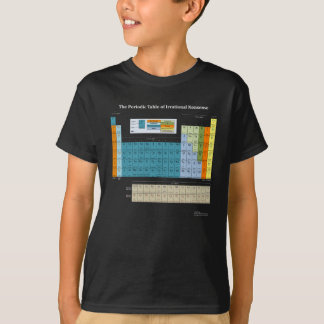 Periodic Table Of Nonsense Dark T-Shirt