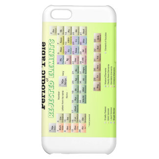 Periodic Table of rejected Elements Case For iPhone 5C