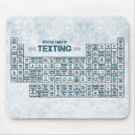 Periodic Table of Texting (Blue)