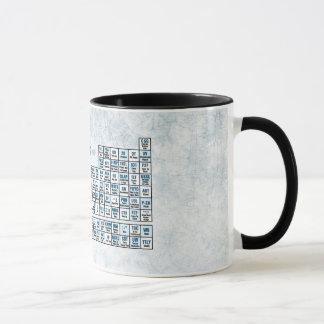 Periodic Table of Texting (Blue) Mug