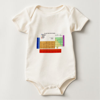 Periodic Table of the Elements Baby Bodysuit