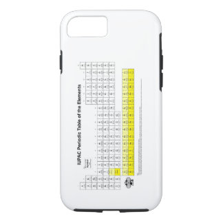Periodic Table of the elements iPhone 7 case