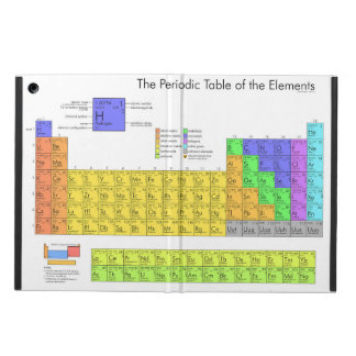 Periodic Table of the Elements Scientific Cover For iPad Air