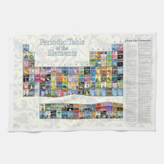Periodic Table of the Elements Tea Towel