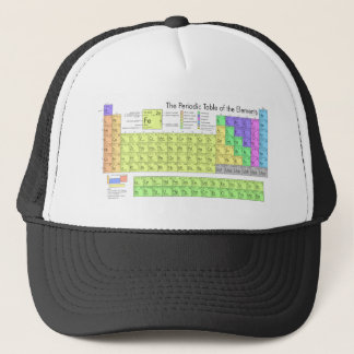 Periodic Table of the Elements Trucker Hat