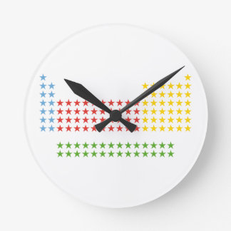 Periodic table round wallclocks