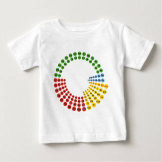 Periodic Table spiral Baby T-Shirt