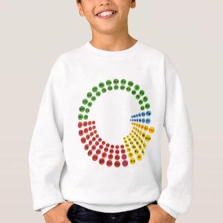 Periodic Table spiral Sweatshirt