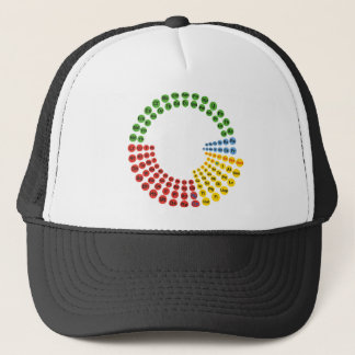 Periodic Table spiral Trucker Hat