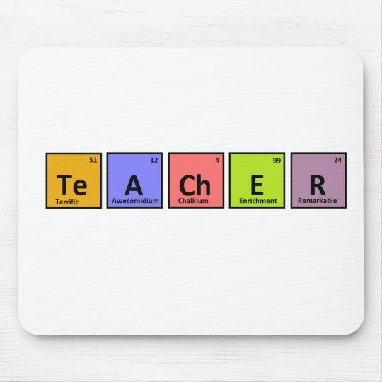 Periodic Table Teacher Appreciation Mouse Mat