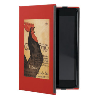 Periodical Cocorico Rooster Promotional Poster Case For iPad Mini