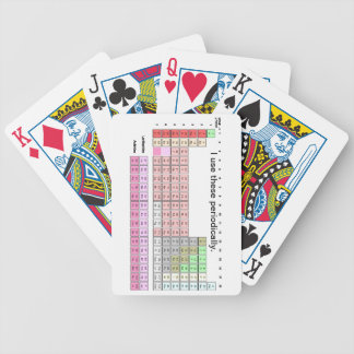 Periodically Bicycle Playing Cards